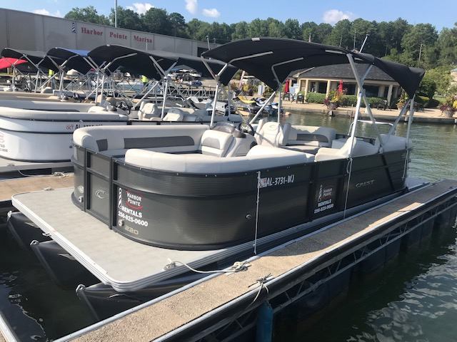 Grey Rental Boat